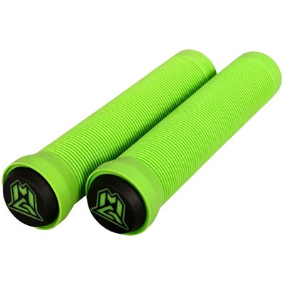 MGP Grind Handlebar Grips With Bar Ends - Green