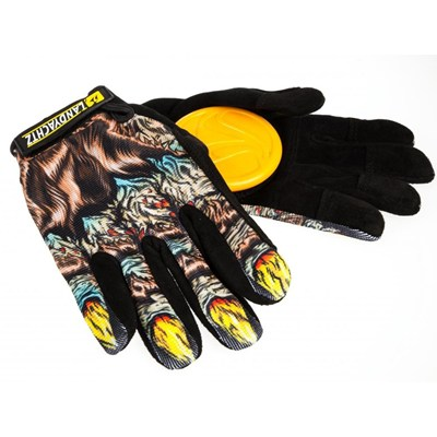 Freeride Longboard Slide Gloves - Werewolf