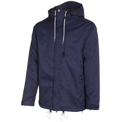 Patch Insulated Jacket - Navy