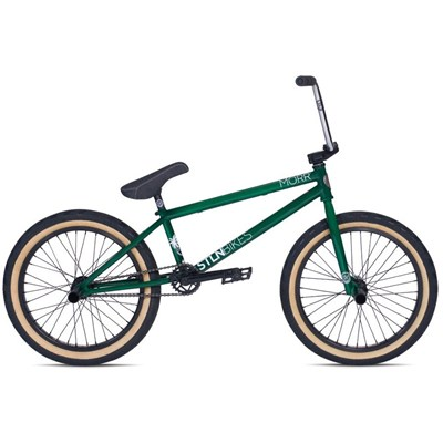 'STS' Morr 2015 20inch BMX Bike - Green