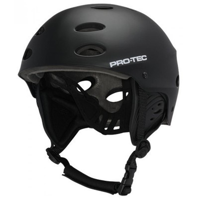 The Ace Wake Helmet - Rubber Black