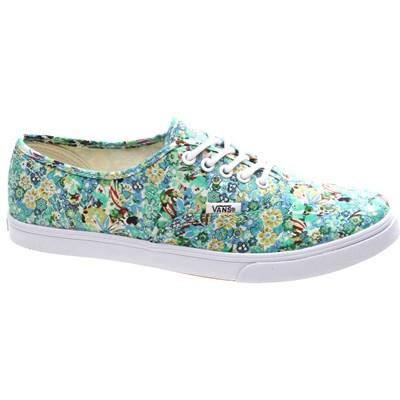 Image of Authentic Lo Pro (Ditsy Floral) Pool Green Shoe W7NFE6