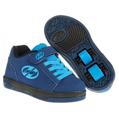 Dual Up Navy/New Blue Kids Heely X2 Shoe