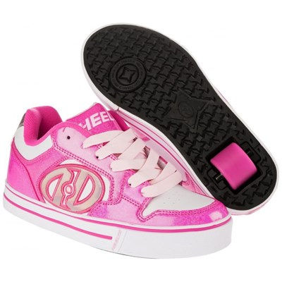 Motion Fuchsia/White Heely Shoe