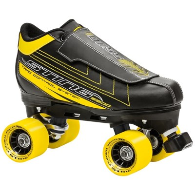 Sting 5500 Black/Yellow Quad Roller Skates