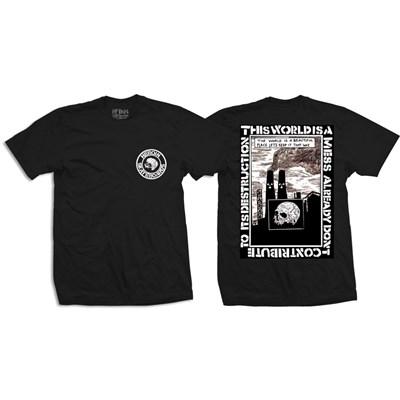 Mess S/S T-Shirt - Black/White