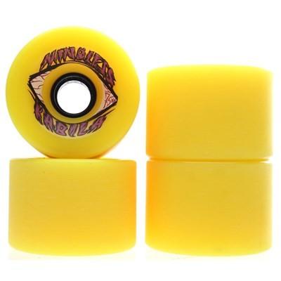 Voodoo Kabila Longboard Wheels - Yellow