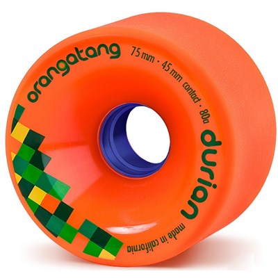 Durian Freeride Longboard Wheels - Orange