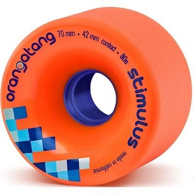 Image of Stimulus Freeride Longboard Wheels - Orange