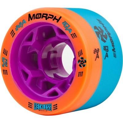 Morph 59mm 88A/93A Orange/Blue Roller Derby Skate Wheels