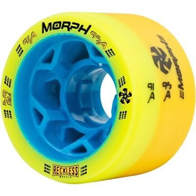 Morph 59mm 91A/95A Yellow Roller Derby Skate Wheels