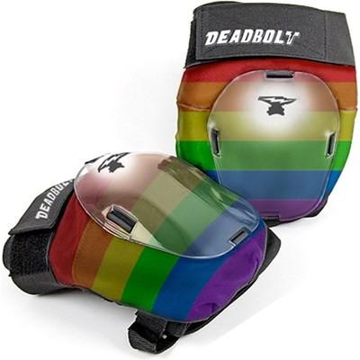 Grand Slams Rainbow Knee Pads