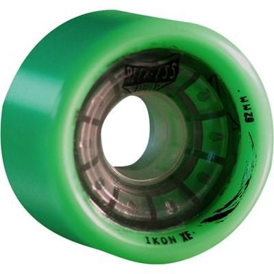 Ikon XE 62mm/93A Green Roller Derby Skate Wheels