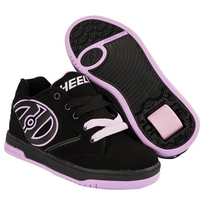Propel 2.0 Black/Lilac Kids Heely Shoe