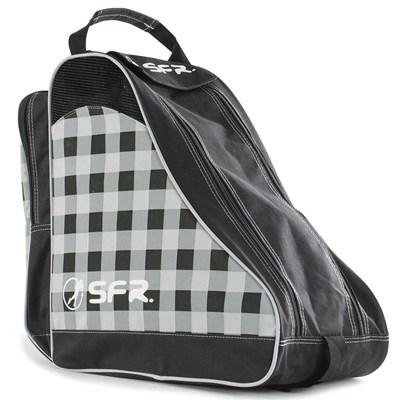 Designer Ice/Roller Skate Carry Bag - Black Chequered