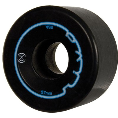 Riva 57mm/96a Roller Skate Wheels- Black
