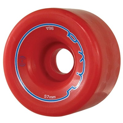 Riva 57mm/96a Roller Skate Wheels- Red