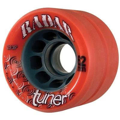 Image of Tuner 62mm Derby Roller Skate Wheels- Red
