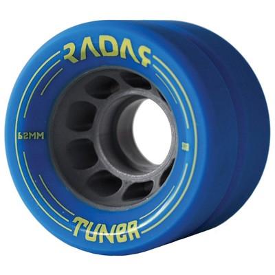Tuner 62mm Derby Roller Skate Wheels-Ice Blue
