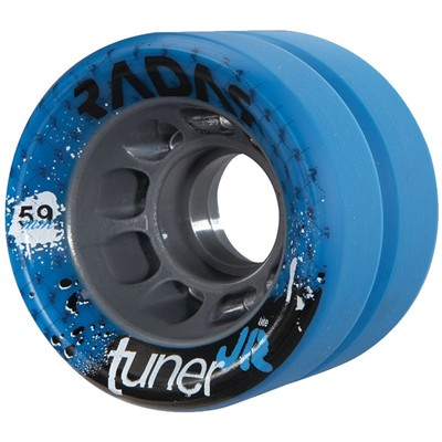 Tuner JR 59mm Derby Roller Skate Wheels- Blue