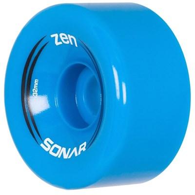 Sonar Zen 62mm/85a Roller Skate Wheels- Blue