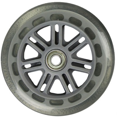Original Street 100mm Scooter Wheels and Bearings - Clear