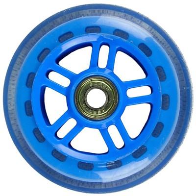 Original Street 100mm Scooter Wheels and Bearings - Reflex Blue