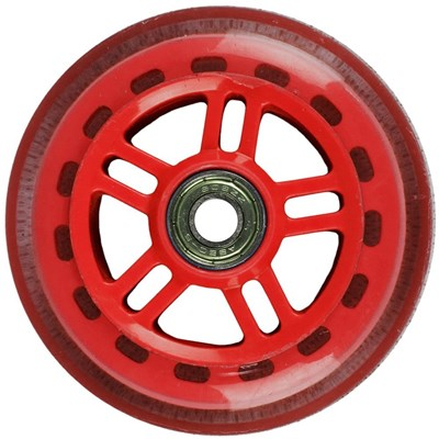 Original Street 100mm Scooter Wheels and Bearings - Red