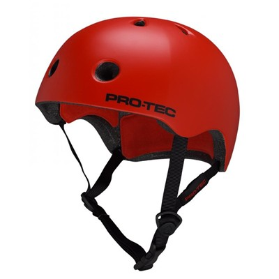 Street Lite Helmet - Satin Blood Orange