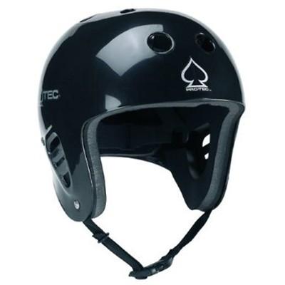 Classic Full Cut Water Helmet - Gloss Black