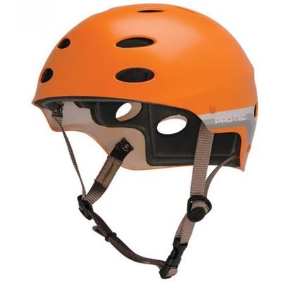 The Ace Water Helmet - Satin Orange Retro