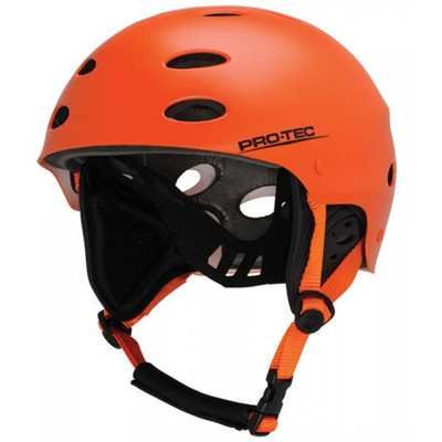 The Ace Wake Helmet - Hot Magma Orange