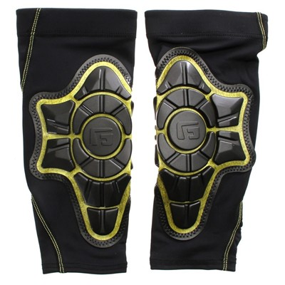 Pro-X Shin Pad - Black/Yellow