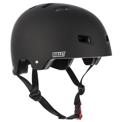 T35 Matt Black Grom Kids Skate/BMX Helmet