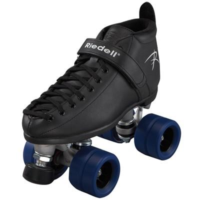 165 Vixen Black Quad Roller Skates