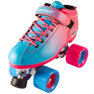 Dart Ombre Quad Roller Skates- Blue/Pink