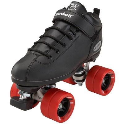 Dart Quad Roller Skates-Black