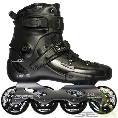 FR2 80 Inline Skates - Black