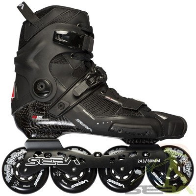 14 High Light Inline Skates - Carbon