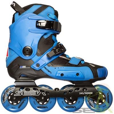 14 High Light Inline Skates - Blue