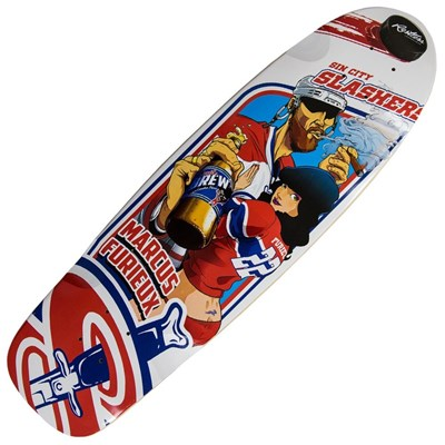 Rocksteady Slashers  '15 Deck - 30.5 inches x 8.75 inches