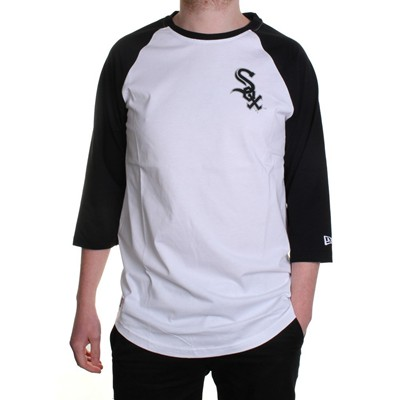 MLB Team Raglan S/S T-Shirt - Chicago White Sox