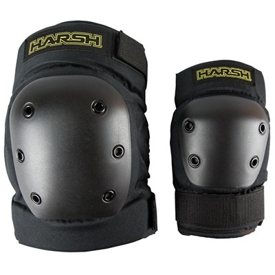 Pro Park Knee & Elbow Combo Protection - Black
