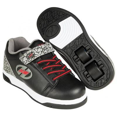 Dual Up Black/Grey/Elephant Kids Heely X2 Shoe