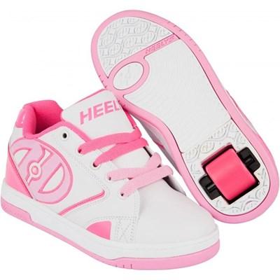 Propel 2.0 White/Hot Pink/Light Pink Kids Heely Shoe