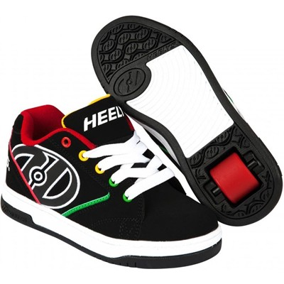 Propel 2.0 Black/Reggae Kids Heely Shoe