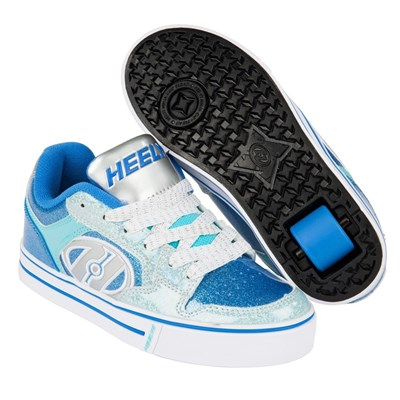 Motion Plus Royal/New Blue/Ice Blue Heely Shoe
