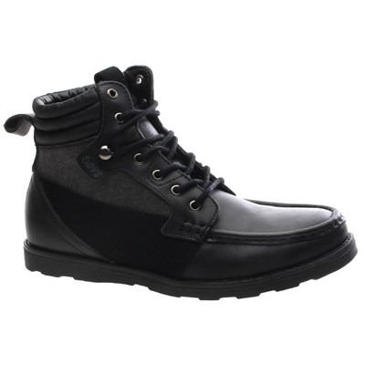 Bishop Black Leather Shoe