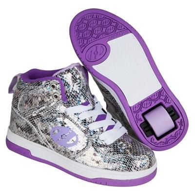 Flash 2.0 Snake Purple Metalic Heely Shoe