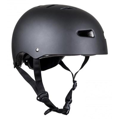 Multisport Matt Black Dial Fit Helmet